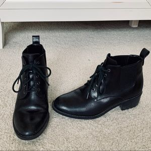 Cole Haan black booties
